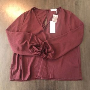 New with tag lush top size extra large